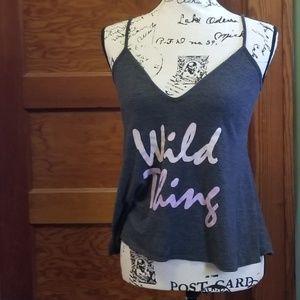 Wildfox XS tank top Wild Thing NWT
